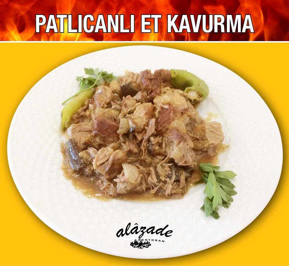 Alazade Patlıcanlı Et Kavurma