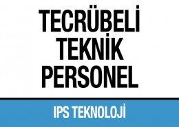 Tecrübeli Teknik Personel