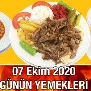 7 Ekim 20202 Günün Menüsü Alazade Restoran