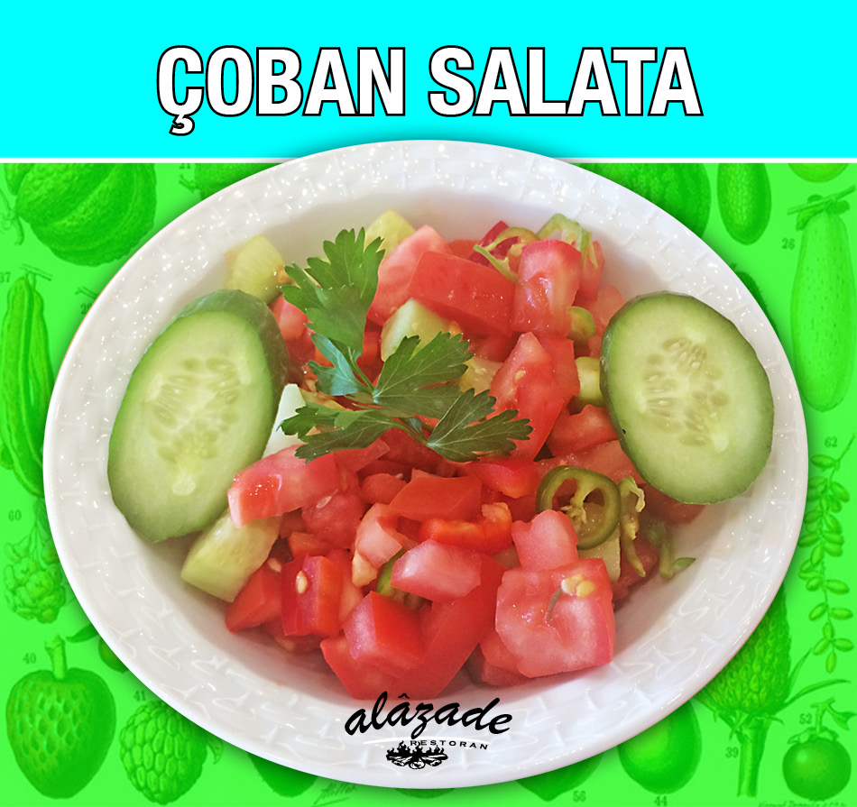 Çoban Salata Alazade Restoran