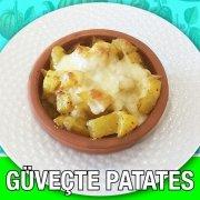 Güveçte Kaşarlı Patates Alazade Restoran