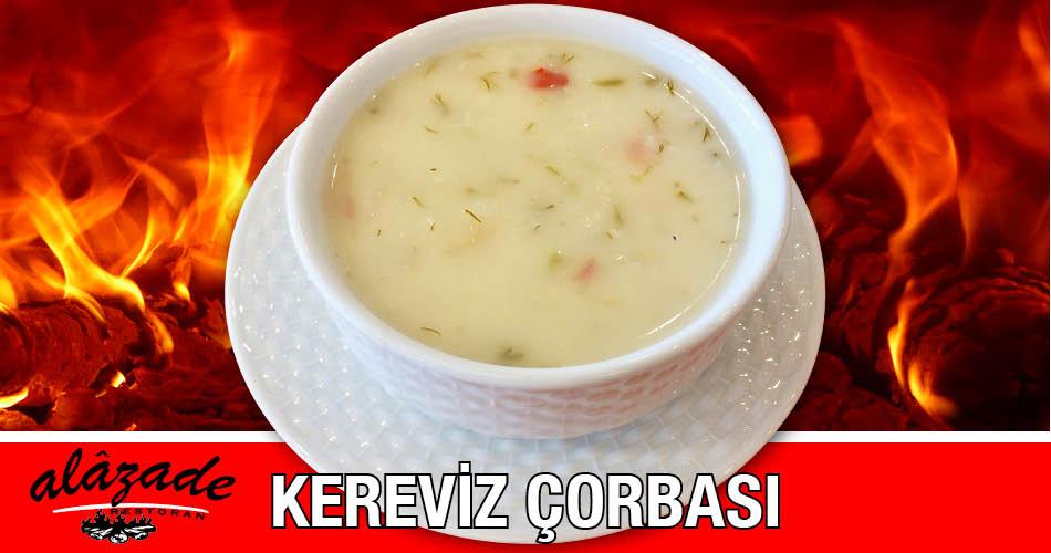 Kereviz Çorbası Alazade Restoran