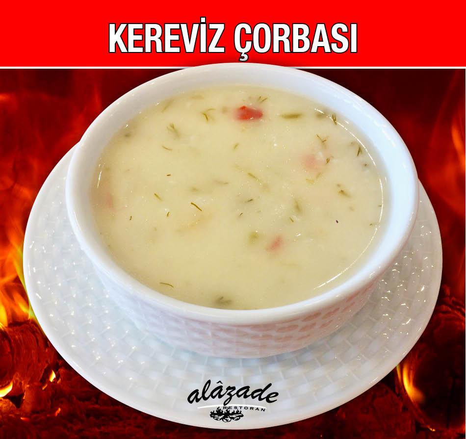 Alazade Restoran Kereviz Çorbası