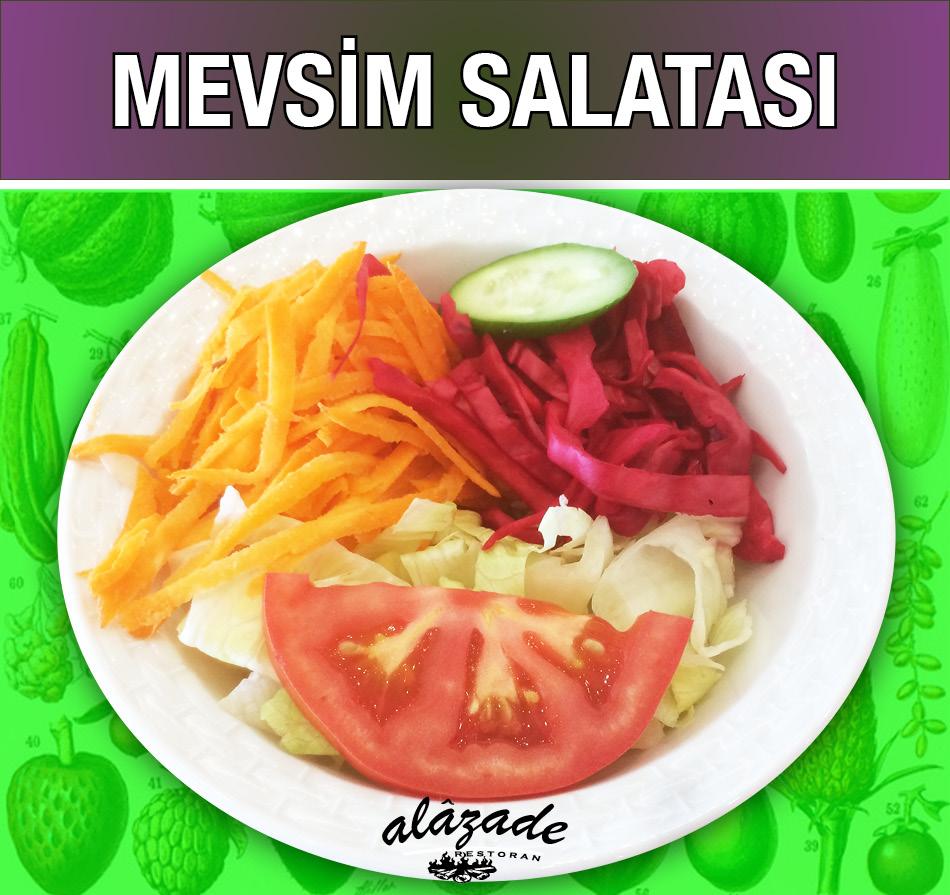 Mevsim Salatası Alazade Restoran