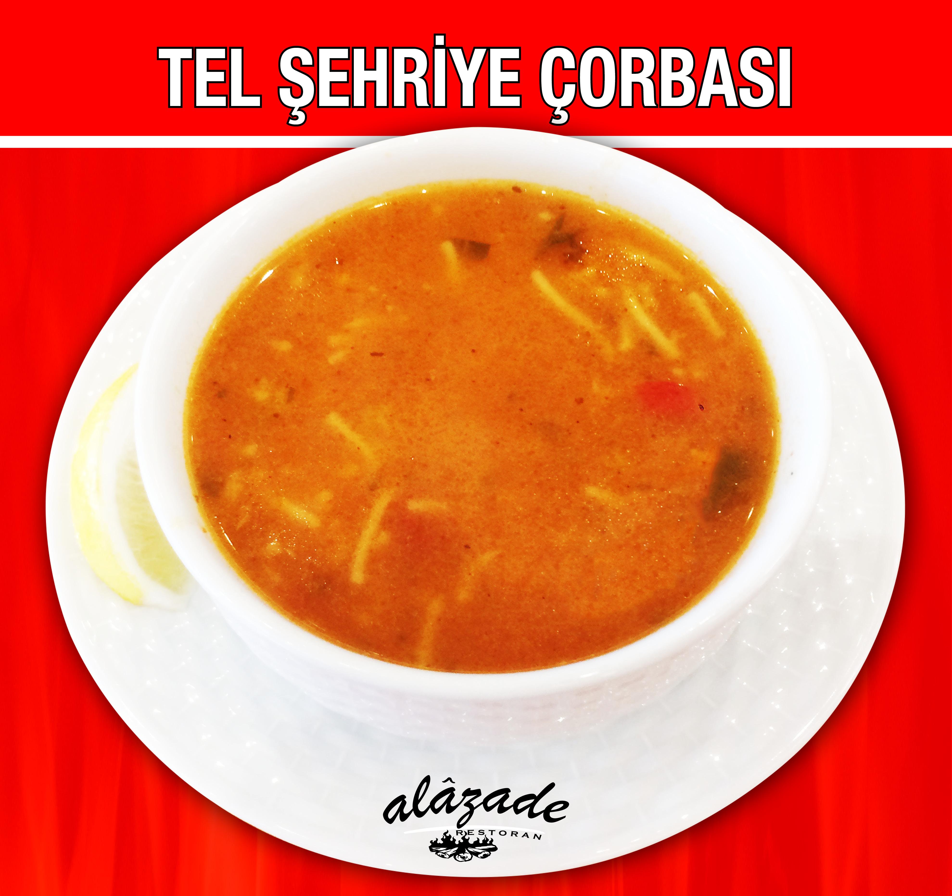 Alazade Restoran Tel Şehriye Çorbası
