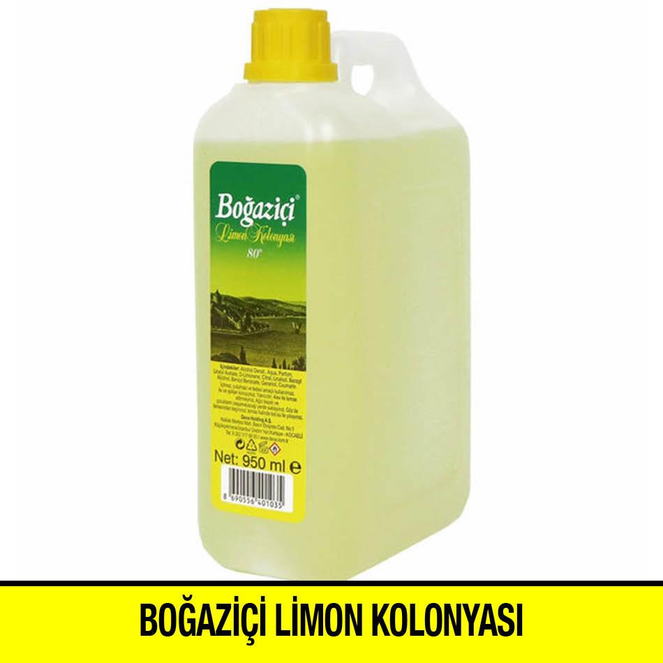 Boğaziçi Limon Kolonyası Bidon 950 ml
