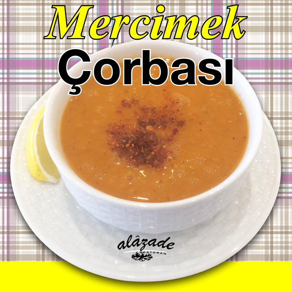 Mercimek Çorbası Alazade Restoran