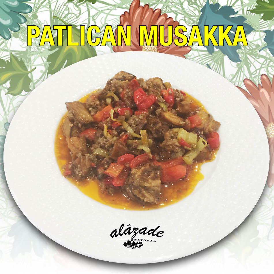 Alazade Restoran Patlıcan Musakka