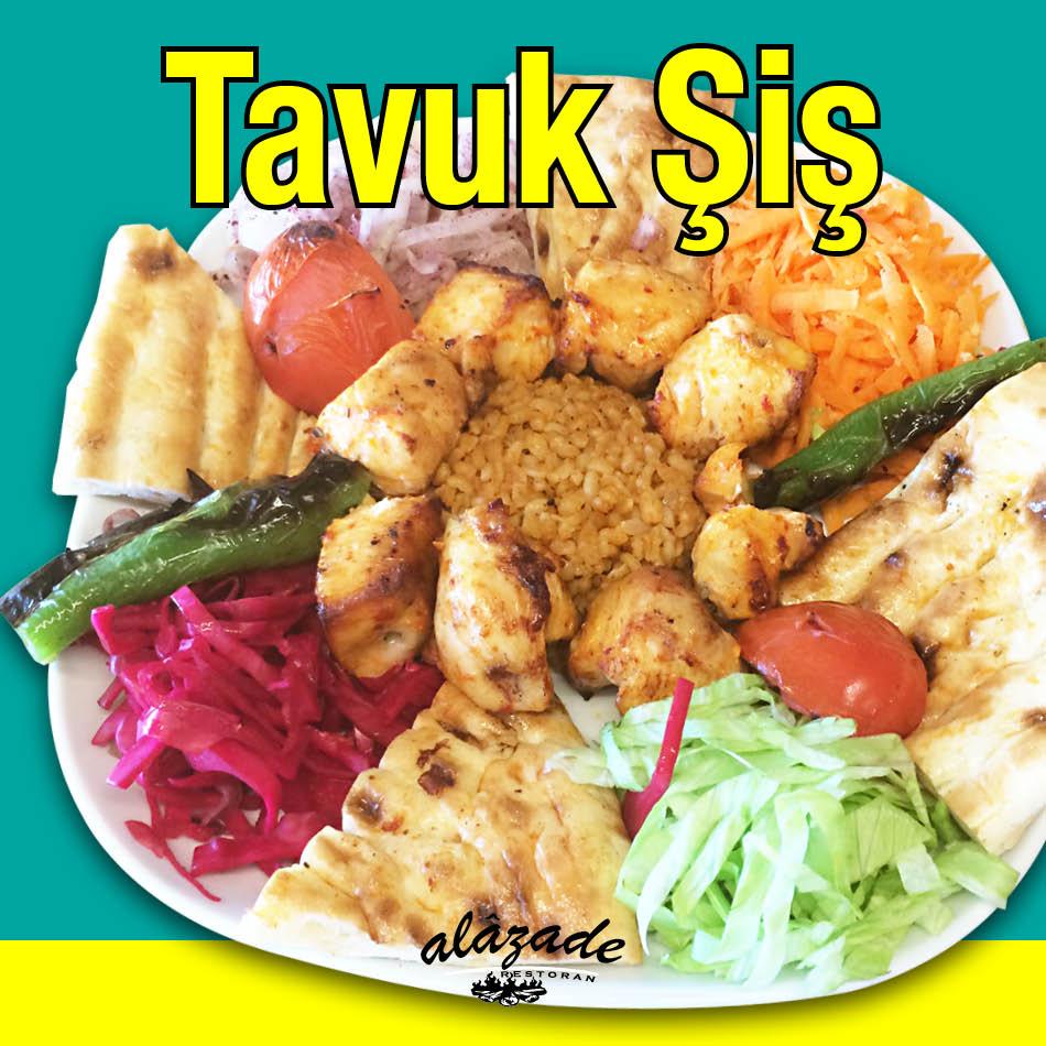 Alazade Restoran Tavuk Şiş