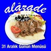 Alazade Restoran 31 Aralık 2020 Günün Menüsü