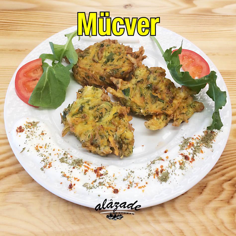 Alazade Restoran Mücver + Çorba + Yoğurt 21 TL
