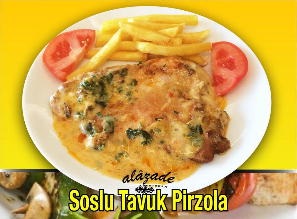 Alazade Restoran Soslu Tavuk Pirzola