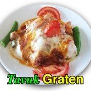 Alazade Restoran Tavuk Graten