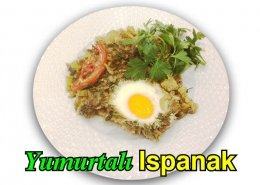 Alazade Restoran Yumurtalı Ispanak