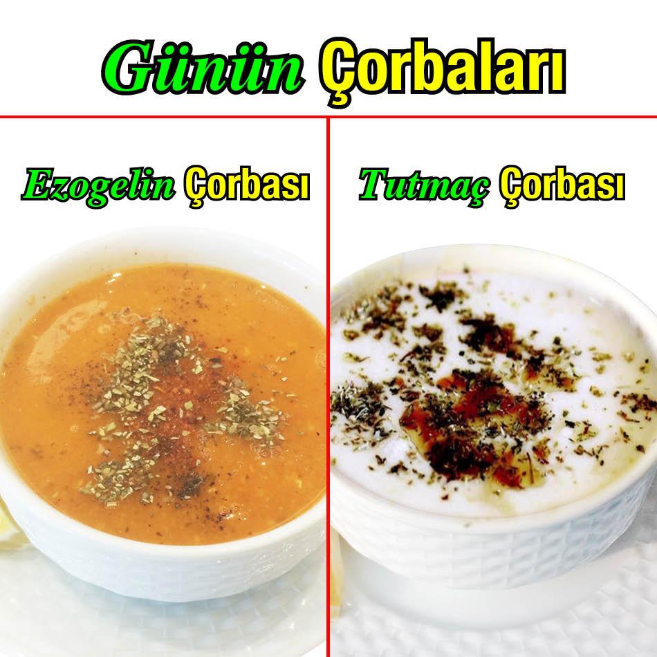 Alazade Restoran 25 Ocak Günün Çorbaları