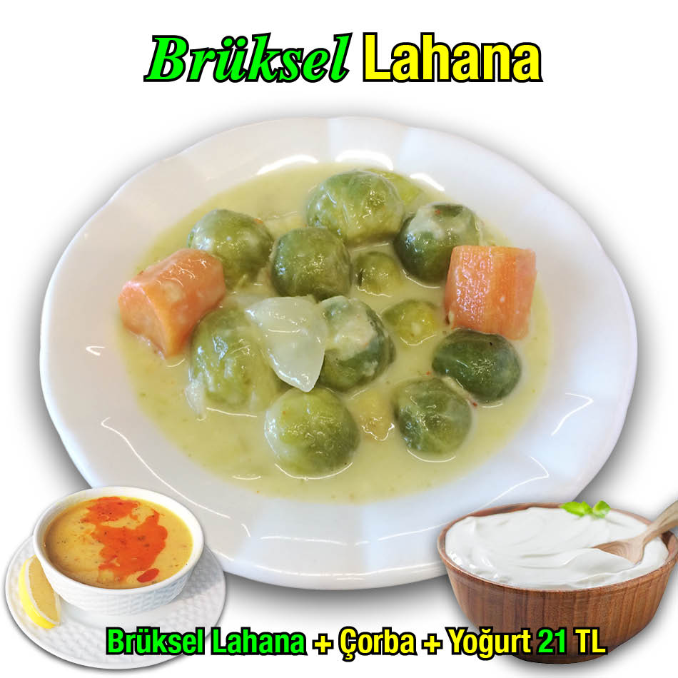 Alazade Restoran Brüksel Lahana Menü