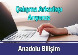 Anadolu Bilişim Çalışma Arkadaşı Arıyoruz