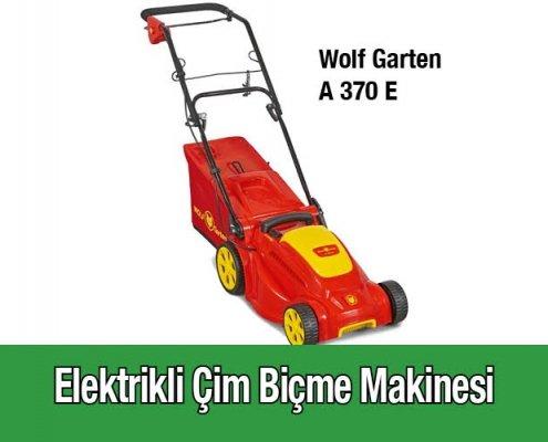 Elektrikli Çim Biçme Makinesi Wolf Garten A 370 E