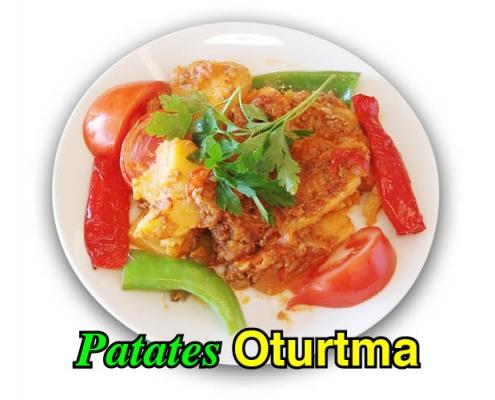 Alazade Restoran Patates Oturtma