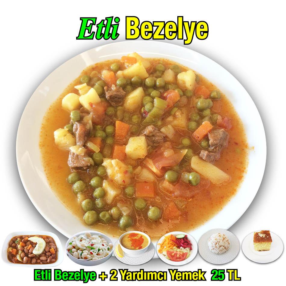 Alazade Etli Bezelye Menü