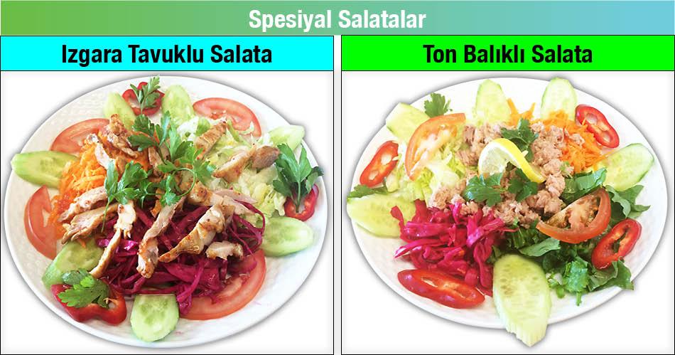 Alazade Restoran Spesiyal Salatalar