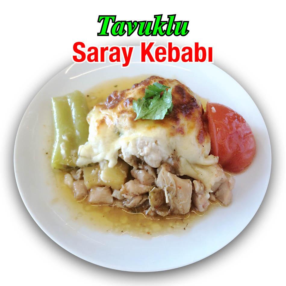 Alazade Restoran Tavuklu Saray Kebabı