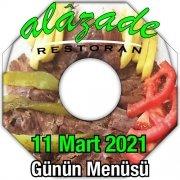 Alazade 11 Mart Menü