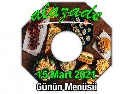 Alazade 15 Mart Menü