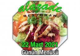 Alazade 22 Mart Menü