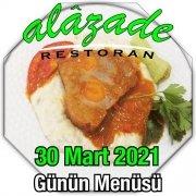 Alazade 30 Mart Menü