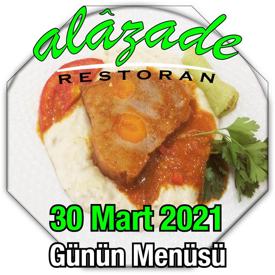 30 Mart Menü Alazade