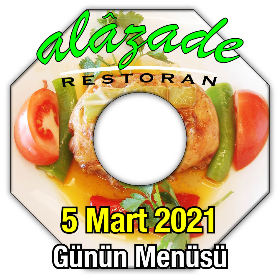 Alazade Restoran 5 Mart Menü