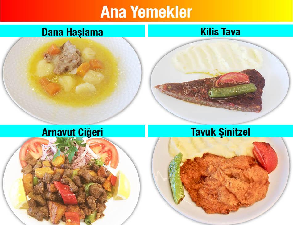 Alazade Restoran Ana Yemekler