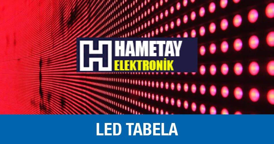 Hametay Elektronik Led Tabela Perpa