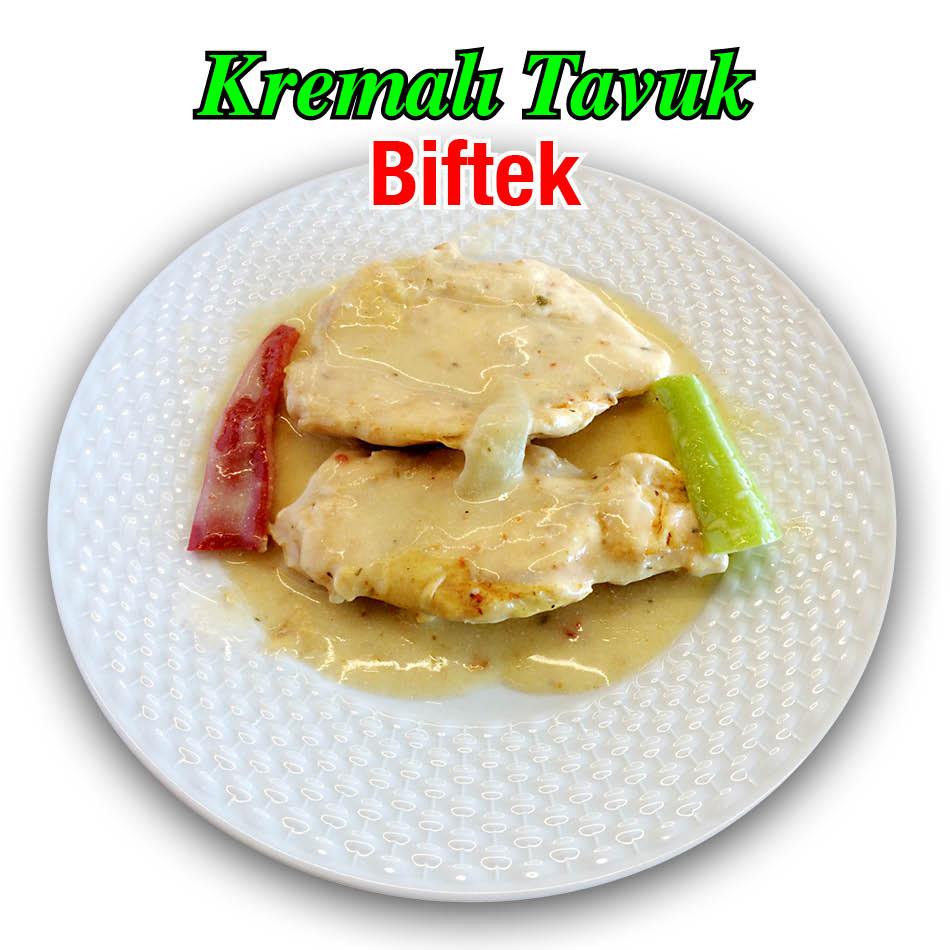 Alazade Kremalı Tavuk Biftek