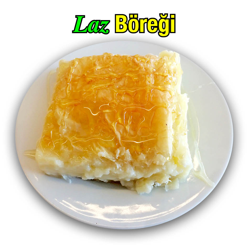 Alazade Laz Böreği Tatlısı