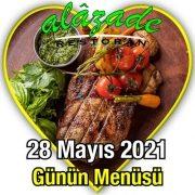 Alazade 28 Mayıs Menü