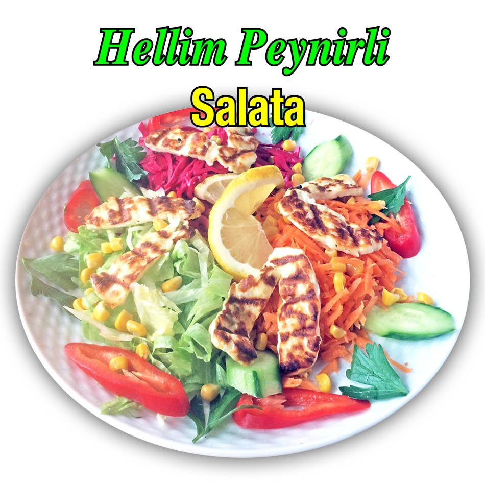 Alazade Hellim Peynirli Salata