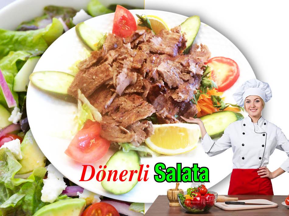 Alazade Dönerli Salata