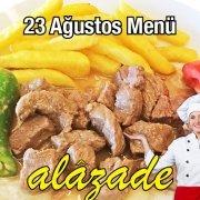 Alazade 23 Ağustos Menü