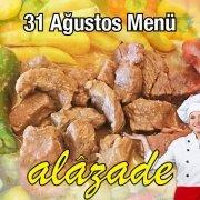 Alazade Restoran 31 Ağustos Menü