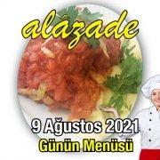 9 Ağustos Menü Alazade