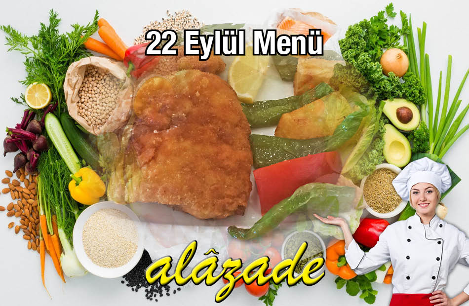 Alazade 22 Eylül Menü