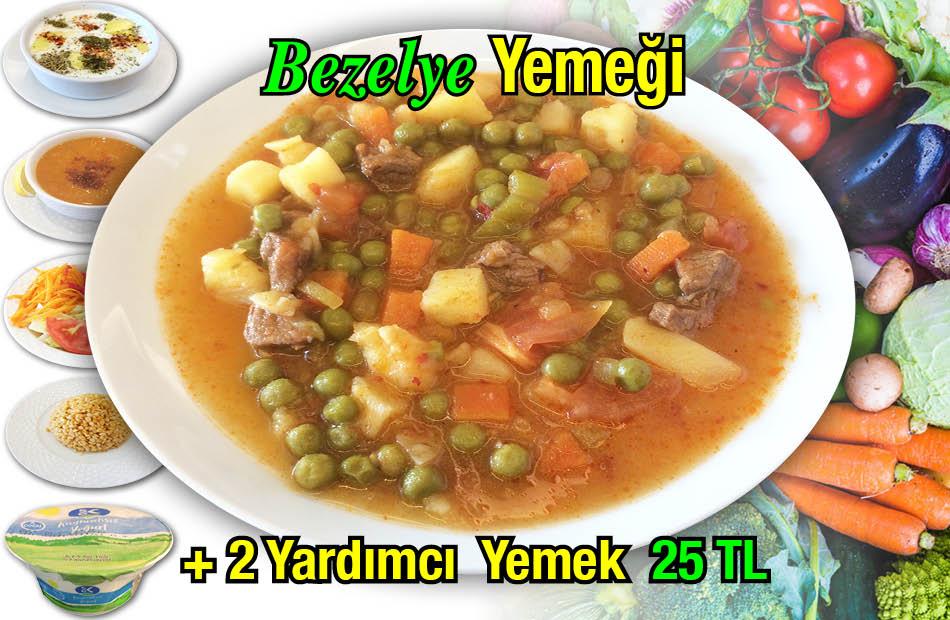 Alazade Bezelye Menü