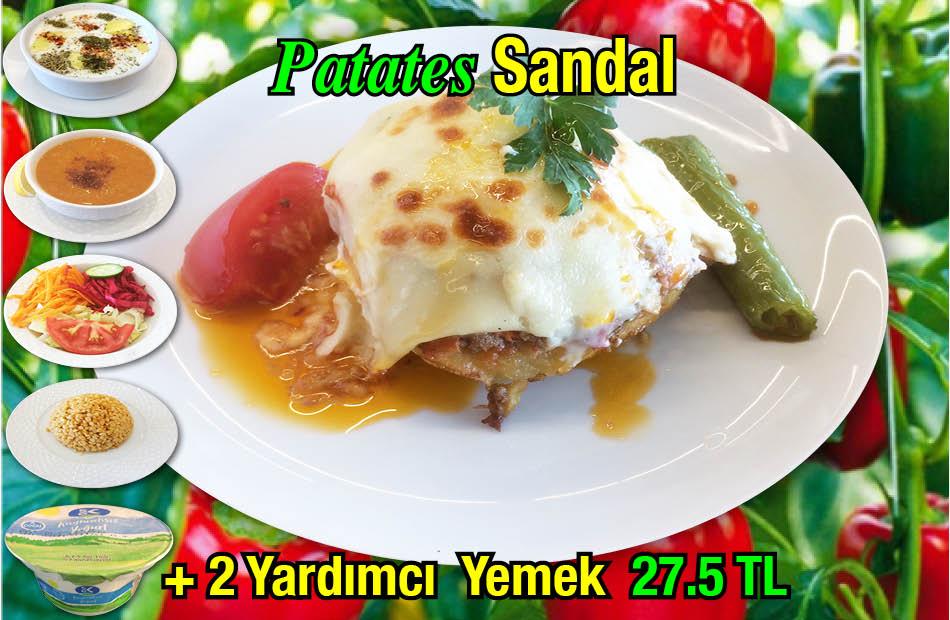 Alazade Patates Sandal Kebabı