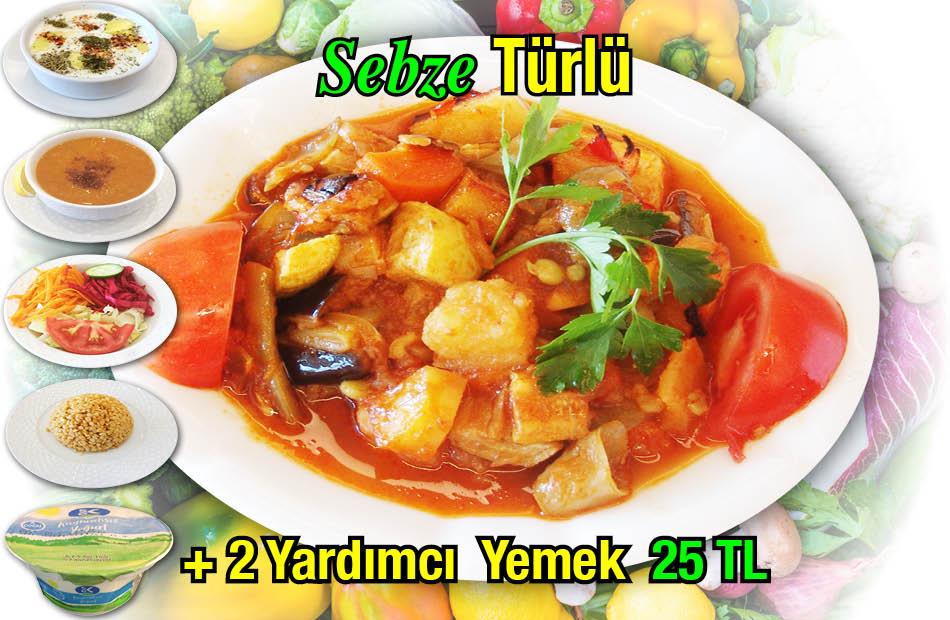 Alazade Sebze Türlü Menü