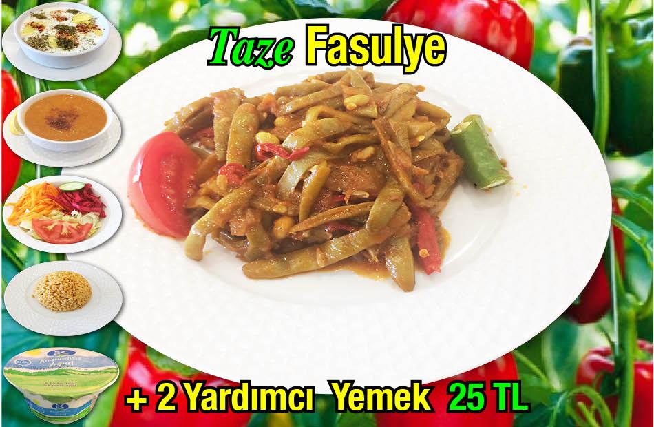 Alazade Taze Fasulye Menü