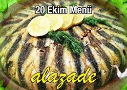 Alazade 20 Ekim 2021 Menü Günün Yemekleri