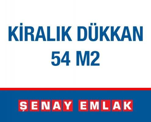 Şeney Emlak Kiralık Dükkan 54 m2