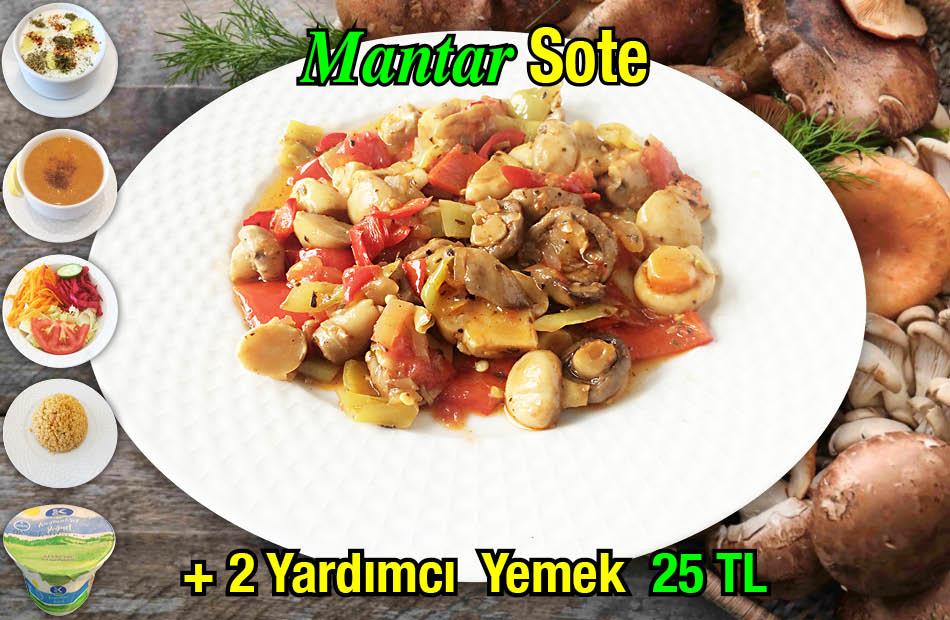 Alazade Mantar Sote Menü